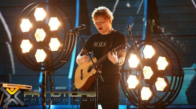 Ed Sheeran impresionó en los Premios Grammy | PR Noticias Panamá